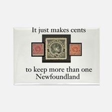 It Just Makes Cents Rectangle Magnet