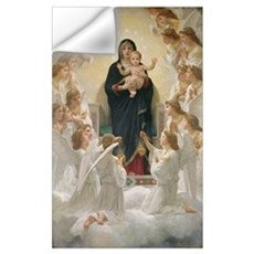 The Virgin with Angels, 1900 (oil on canvas) Wall Decal