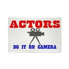 Actors Do It Rectangle Magnet (100 pack)