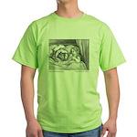Dore's Red Riding Hood Green T-Shirt
