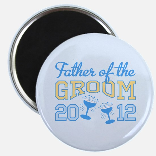 Father Groom Champagne 2012 Magnet