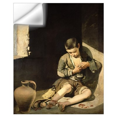 The Young Beggar, c.1650 (oil on canvas) Wall Decal