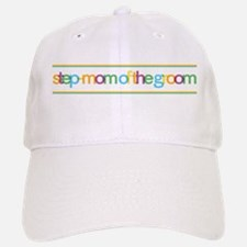 Funky Type Step Mother Groom Baseball Baseball Cap