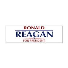 Ronald Reagan President Car Magnet 10 x 3