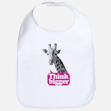 Giraffe - Think bigger Bib