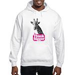 Giraffe - Think bigger Hooded Sweatshirt