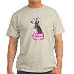Giraffe - Think bigger Light T-Shirt