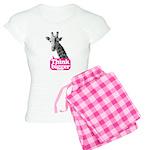 Giraffe - Think bigger Women's Light Pajamas