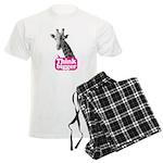 Giraffe - Think bigger Men's Light Pajamas