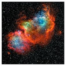 IC 1848, the Soul Nebula Poster