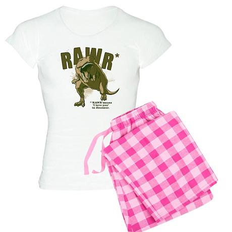 RAWR Dinosaur Women's Light Pajamas