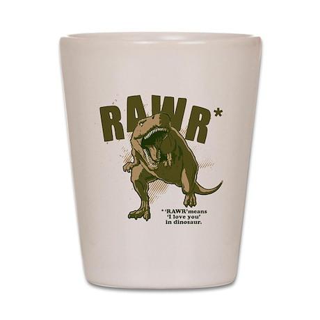 RAWR Dinosaur Shot Glass