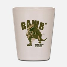 RAWR Dinosaur Shot Glass
