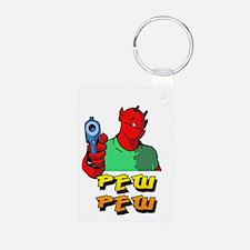Pew Pew Keychains