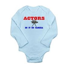 Actors Do It Long Sleeve Infant Bodysuit