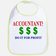 Accountants Do It Bib