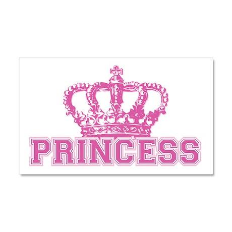 Crown Princess Car Magnet 20 x 12
