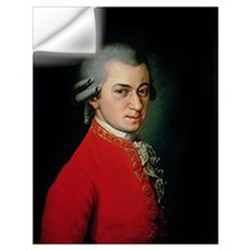 Wolfgang Amadeus Mozart, 1818 (oil on canvas) Wall Decal
