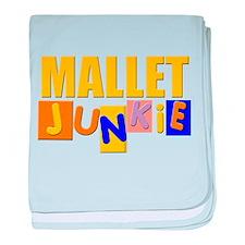 Mallet Junkie baby blanket