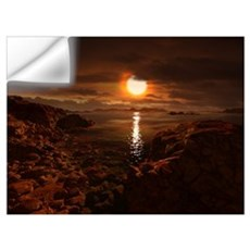 Exoplanet Gliese 581 d Wall Decal