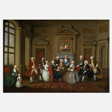 A Family in a Palladian Interior (The Tylney Group
