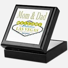 Mom & Dad Golden Anniversary Keepsake Box