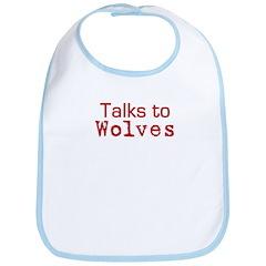 Talks to Wolves Bib