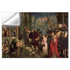 Ecce Homo, 1543 (oil on canvas) Wall Decal