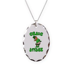 Craic Attack St Patricks Day Necklace