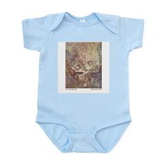 Dulac's Little Mermaid Infant Creeper