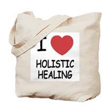 I heart holistic healing Tote Bag