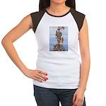 WH Robinson's Little Mermaid Women's Cap Sleeve T-