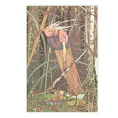 Bilibin's Baba Yaga Postcards (Package of 8)