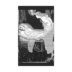 Batten's Unseen Bridegroom Rectangle Decal