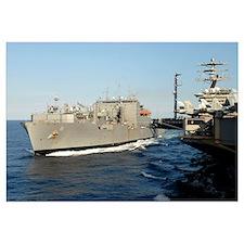 Dry cargo and ammunition ship USNS Wally Schirra
