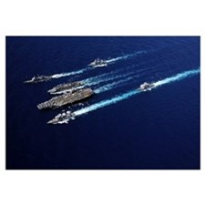 The Abraham Lincoln Carrier Strike Group ships cru