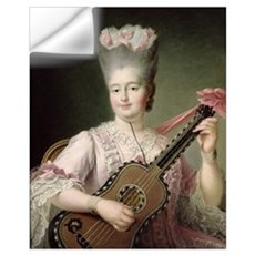 Portrait of Marie-Clothilde of France (1759-1802), Wall Decal