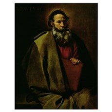 St. Paul, c.1619 (oil on canvas) Poster