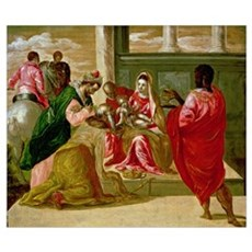 The Adoration of the Magi, 1567-70 (oil on panel) Poster