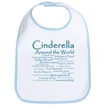 Cinderella Around the World Bib