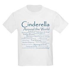 Cinderella Around the World Kids T-Shirt