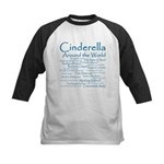 Cinderella Around the World Kids Baseball Jersey