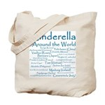 Cinderella Around the World Tote Bag