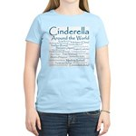 Cinderella Around the World Women's Pink T-Shirt