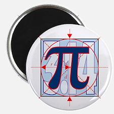 Pi Sign Drawing Magnet