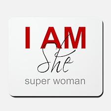 Super Woman Mousepad