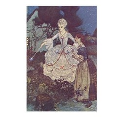 Dulac's Cinderella & Godmother Postcards (Package