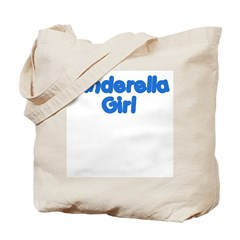 Cinderella Girl Tote Bag