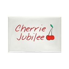 Cherrie Jubilee Rectangle Magnet