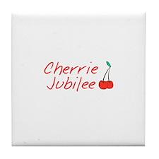 Cherrie JubileeTile Coaster
